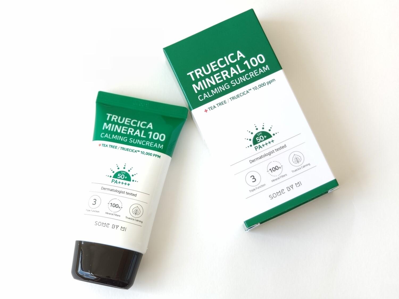 Крем солнцезащитный Some By Mi Truecica Mineral 100 Calming Sun Cream SPF50+ PA+++, 50 мл
