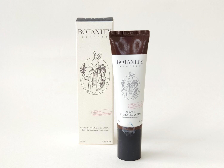 Крем-гель успокаивающий и восстанавливающий для лица Botanity Flavon hydro gel Cream, 50 мл