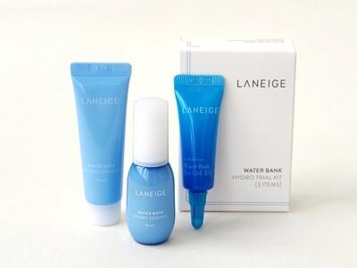 Набор миниатюр LANEIGE Water Bank Hydro Trial Kit (3 предмета)