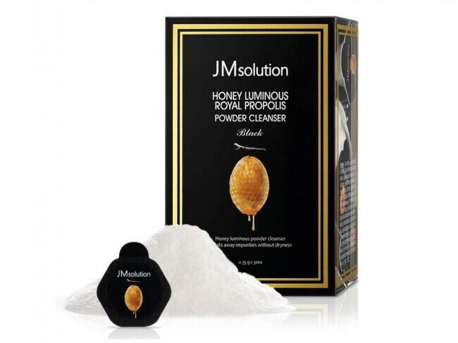 Энзимная пудра JMsolution Honey Luminous Royal Propolis Powder Cleanse, капсула 0,35 гр, в ассортименте
