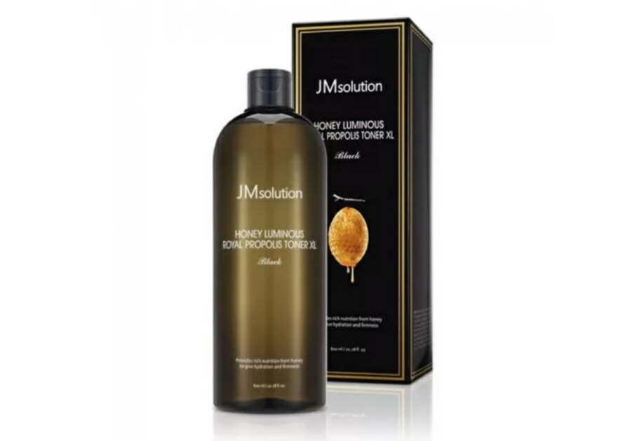 Тонер для лица с экстрактом прополиса JMsolution Honey Luminous Royal Propolis Toner, 600 мл.