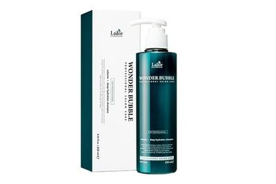 Увлажняющий шампунь для объёма и гладкости волос Lador Wonder Bubble, 250 мл.