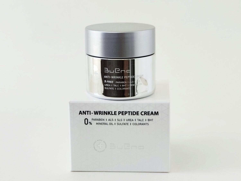 Пептидный крем омолаживающий Bueno Anti-Wrinkle Peptide Cream, 80 мл.
