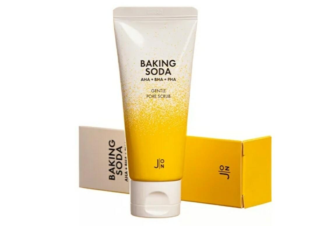 Скраб с кислотами для лица J:ON Baking Soda Gentle Pore Scrub, 50 мл.
