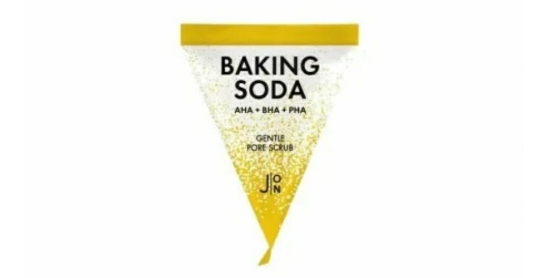 Скраб для лица J:ON Baking Soda Gentle Pore Scrub, саше 5 мл.