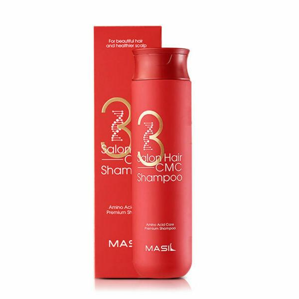 Восстанавливающий профессиональный шампунь с аминокислотами Masil 3 Salon Hair CMC Shampoo, 300 мл.