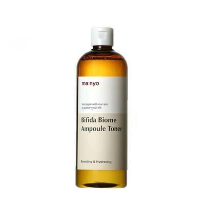 Ампульный укрепляющий тонер с бифидобактериями Manyo Bifida Biome Ampoule Toner, 400 мл