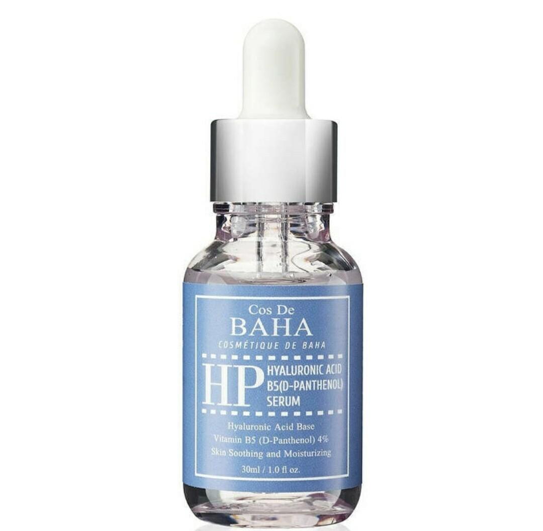 Сыворотка для лица Cos De Baha Сыворотка с гиалуроновой кислотой и пантенолом Cos De BAHA Hyaluronic Acid B5 (D-Panthenol) Serum, 30 мл.