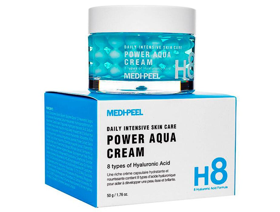 Крем-гель с кремовыми капсулами MEDI-PEEL Power Aqua Creme, 50 мл