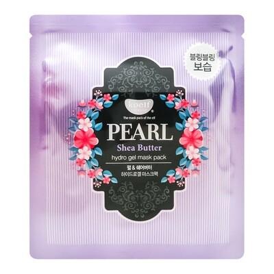 Гидрогелевая маска для лица с маслом ши и жемчужной пудрой Petitfee Pearl & Shea Butter Mask, 30 гр