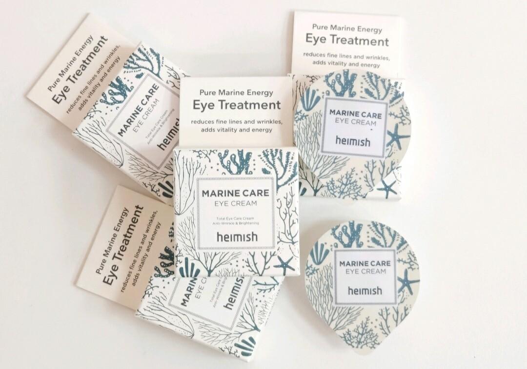 Увлажняющий и питательный крем для глаз на основе морских водорослей Heimish Marine Care Eye Cream, 5 мл.