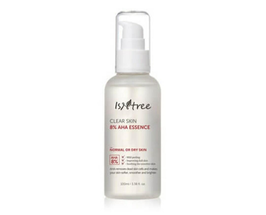 Обновляющая эссенция с АНА-кислотами IsNtree Clear Skin 8% AHA Essence, 100 мл.
