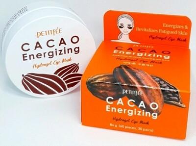 Тонизирующие гидрогелевые патчи с какао Petitfee Cacao Energizing Hydrogel Eye Patch, 60 шт