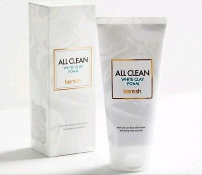 Глиняная пенка для глубокого очищения пор Heimish All Clean White Clay Foam, 150 мл.