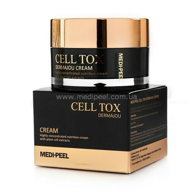 Омолаживающий пептидный крем со стволовыми клетками Medi-Peel Cell Tox Dermajou Cream, 50 мл
