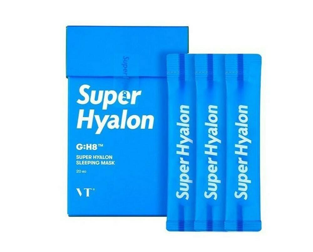 Увлажняющая ночная маска с гиалуроновым комплексом VT Super Hyalon Sleeping Mask, 4 мл