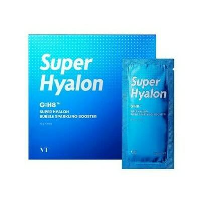 Увлажняющая пузырьковая маска с гиалуроновым комплексом VT Cosmetics Super Hyalon Bubble Sparkling Booster, 10 мл
