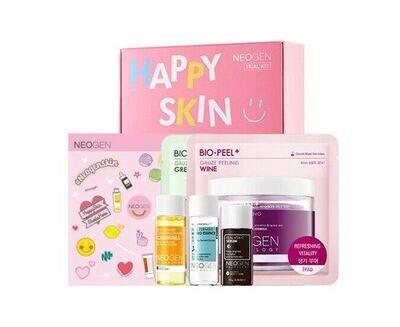 Набор миниатюр Neogen Trial Kit Happy Skin Starts Here, 5 средств