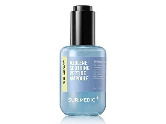 Успокаивающая ампульная сыворотка с азуленом и пептидами SUR.MEDIC+ Azulene Soothing Peptide Ampoule, 80 мл