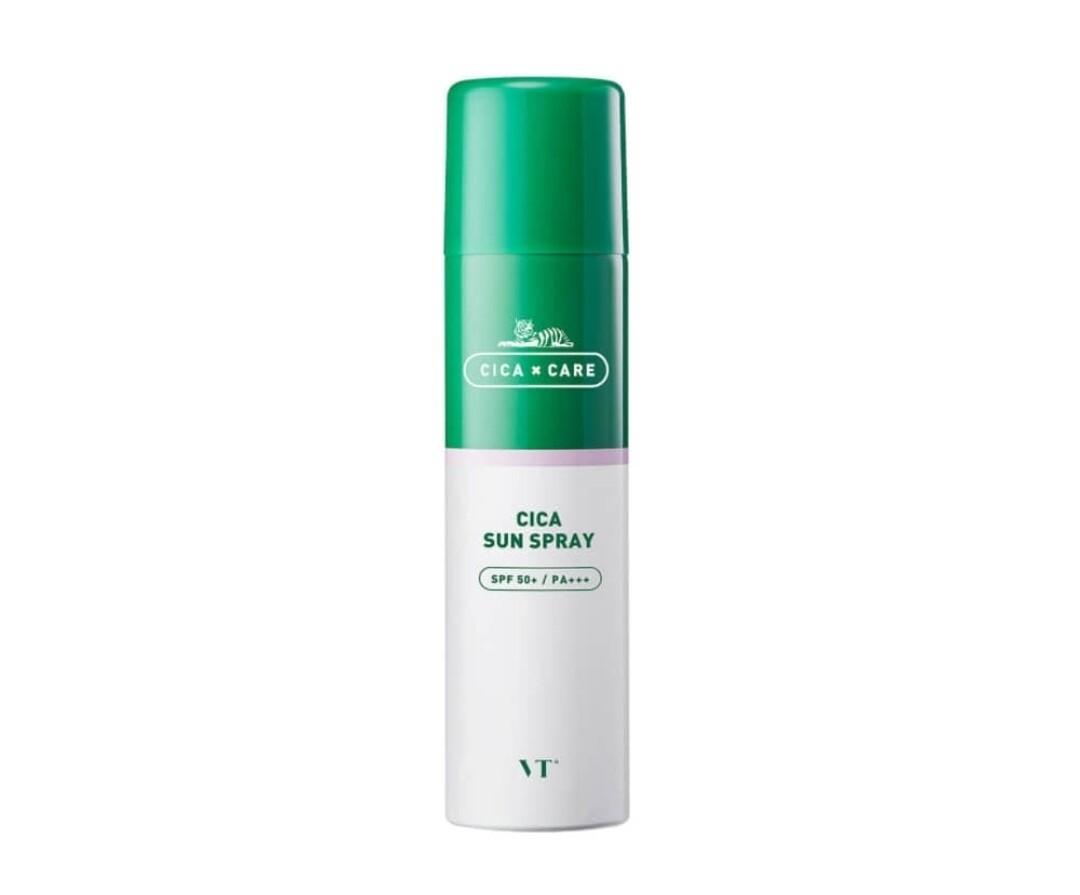 Солнцезащитный спрей для чувствительной кожи VT Cica Sun Spray SPF 50+/PA+++, 150 мл
