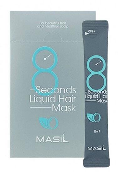 Экспресс-маска для объема волос Masil 8 Seconds Salon Liquid Hair Mask, 8 мл.