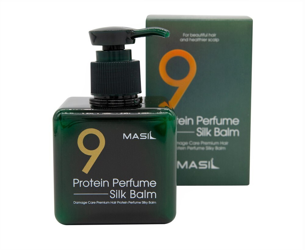 Несмываемый бальзам для поврежденных волос Masil 9 Protein Perfume Silk Balm, 180 мл.
