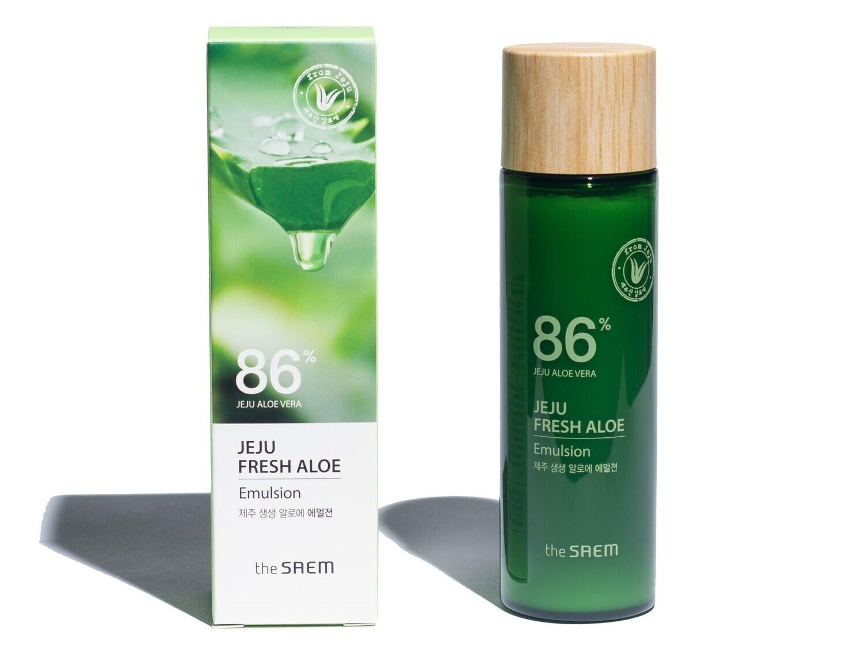 Увлажняющая эмульсия с алоэ The Saem Jeju Fresh Aloe Emulsion, 155 мл