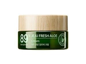 Увлажняющий крем для лица с алоэ The Saem Jeju Fresh Aloe Cream, 50 мл