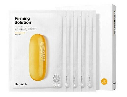 Гидрогелевая лифтинг-маска с био-пептидами Dr.Jart+ Firming Solution, набор 5шт *28 мл.