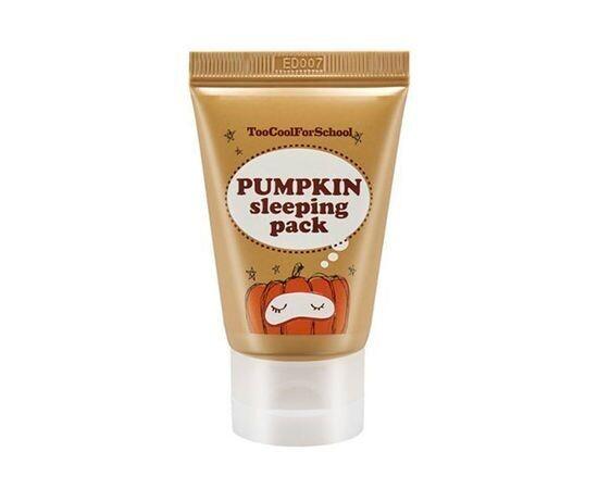 Ночная маска с тыквой Too Cool for School Pumpkin Sleeping Pack, 30 мл