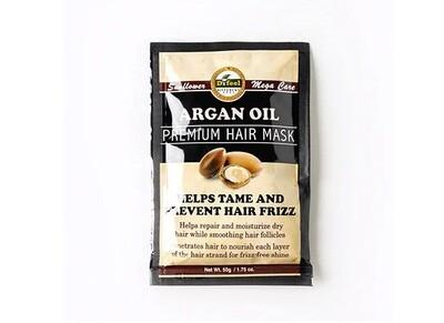 Премиальная маска для волос с маслом арганы Difeel Argan Oil Hair Mask, 50 мл