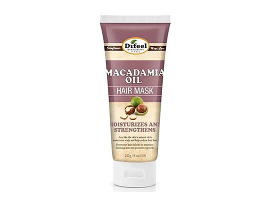 Премиальная маска для волос с маслом макадамии Difeel Macadamia Premium Hair Mask, 236 мл