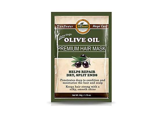 Премиальная маска для волос с маслом оливы Difeel Olive Oil Premium Hair Mask, 50 мл