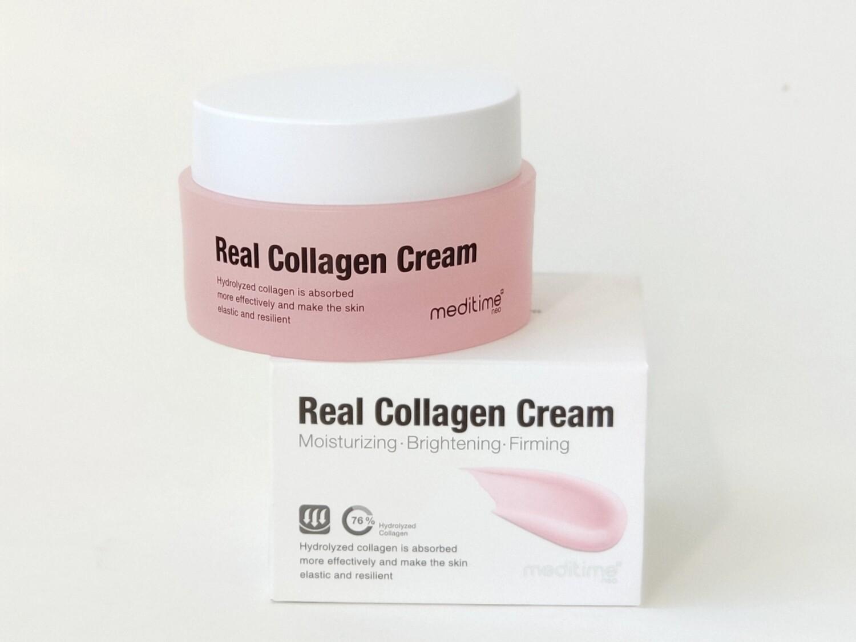 Омолаживающий крем с коллагеном Meditime Real Collagen Cream, 50 мл