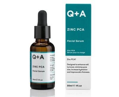 Сыворотка для лица с цинком Q+A Zinc PCA Facial Serum, 30 мл