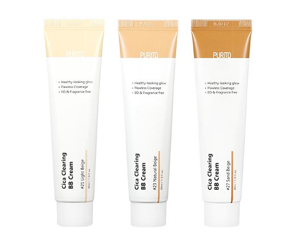 BB-крем для чувствительной кожи с экстрактом центеллы Purito Cica Clearing BB cream, 30 мл