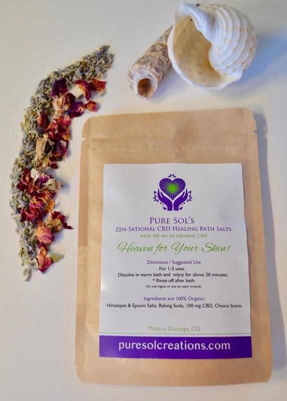 Zen-Sational CBD Bath Salts