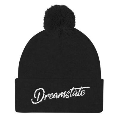 Dreamstate - (Embroidered) Pom Pom Knit Beanie