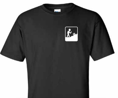 Black Adventure RC Trucks Men's Tee Shirt