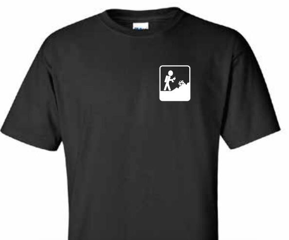 Black Adventure RC Trucks Men's Tee Shirt