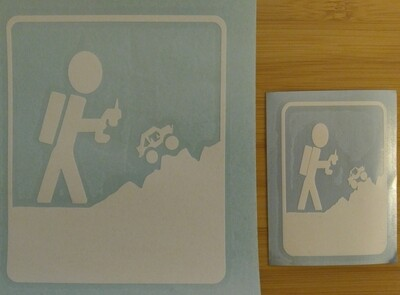 Small Vinyl Transfers (white)