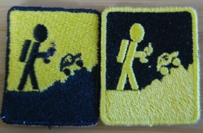 Black and Yellow Patch