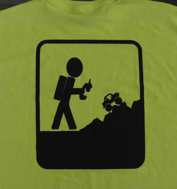Saftey Green/ Yellow Adventure RC Trucks Tee Shirt