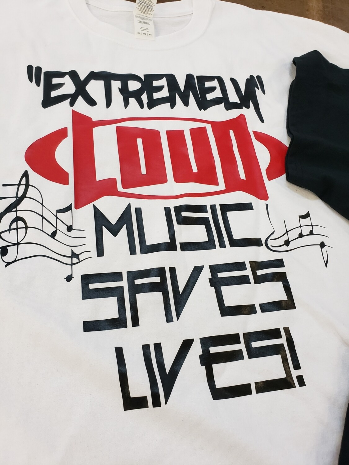 Loud music saves lives