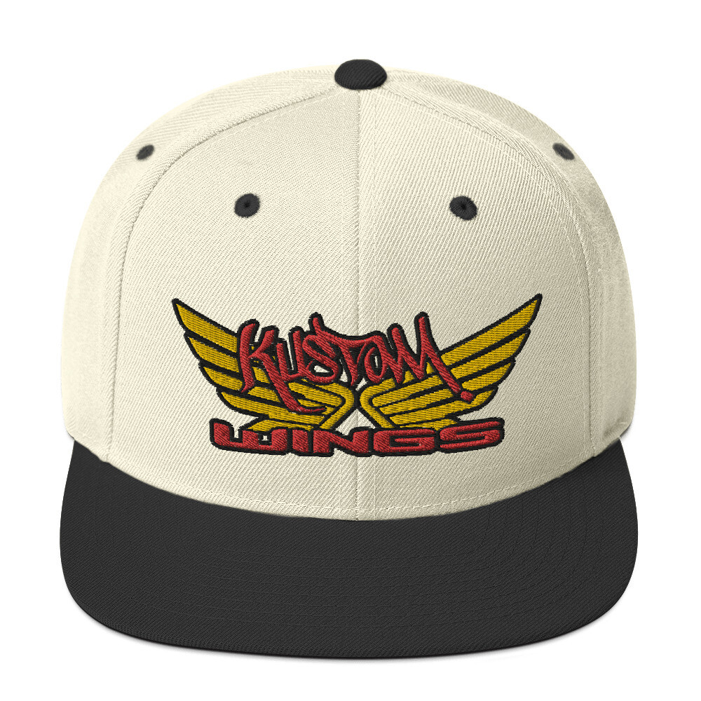KUSTOM WINGS NEW Snapback Hat