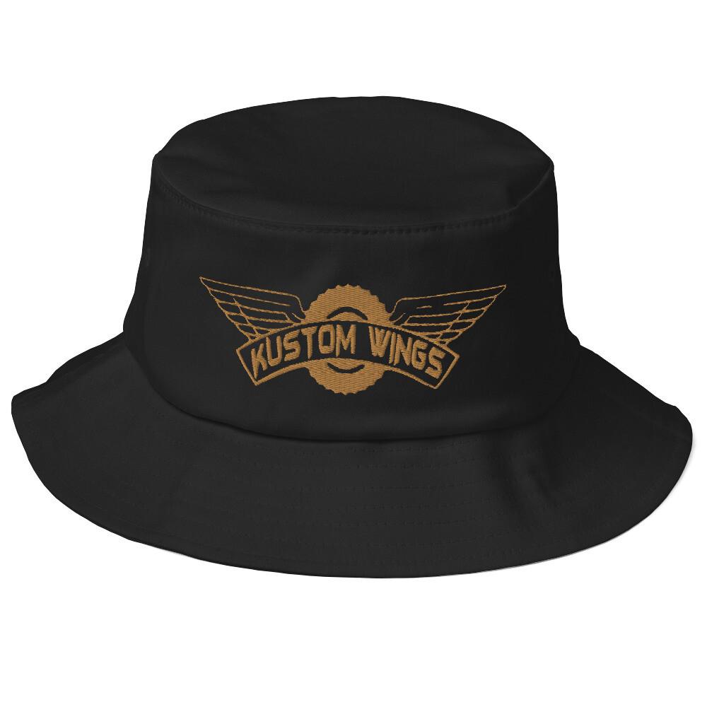 Kustom wings original Old School Bucket Hat