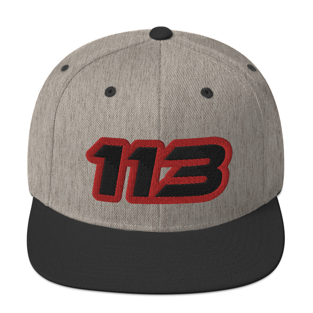 113 Snapback Hat