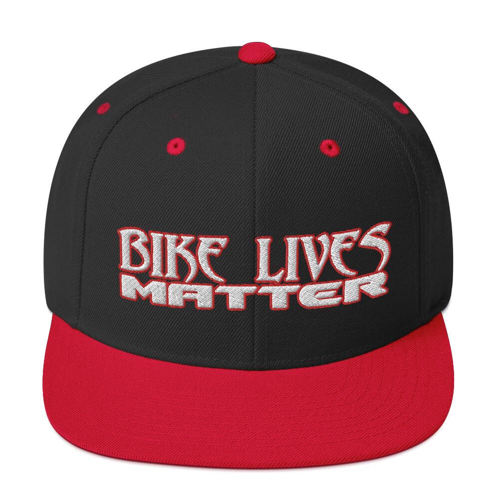 BIKE LIVES MATTER Snapback Hat