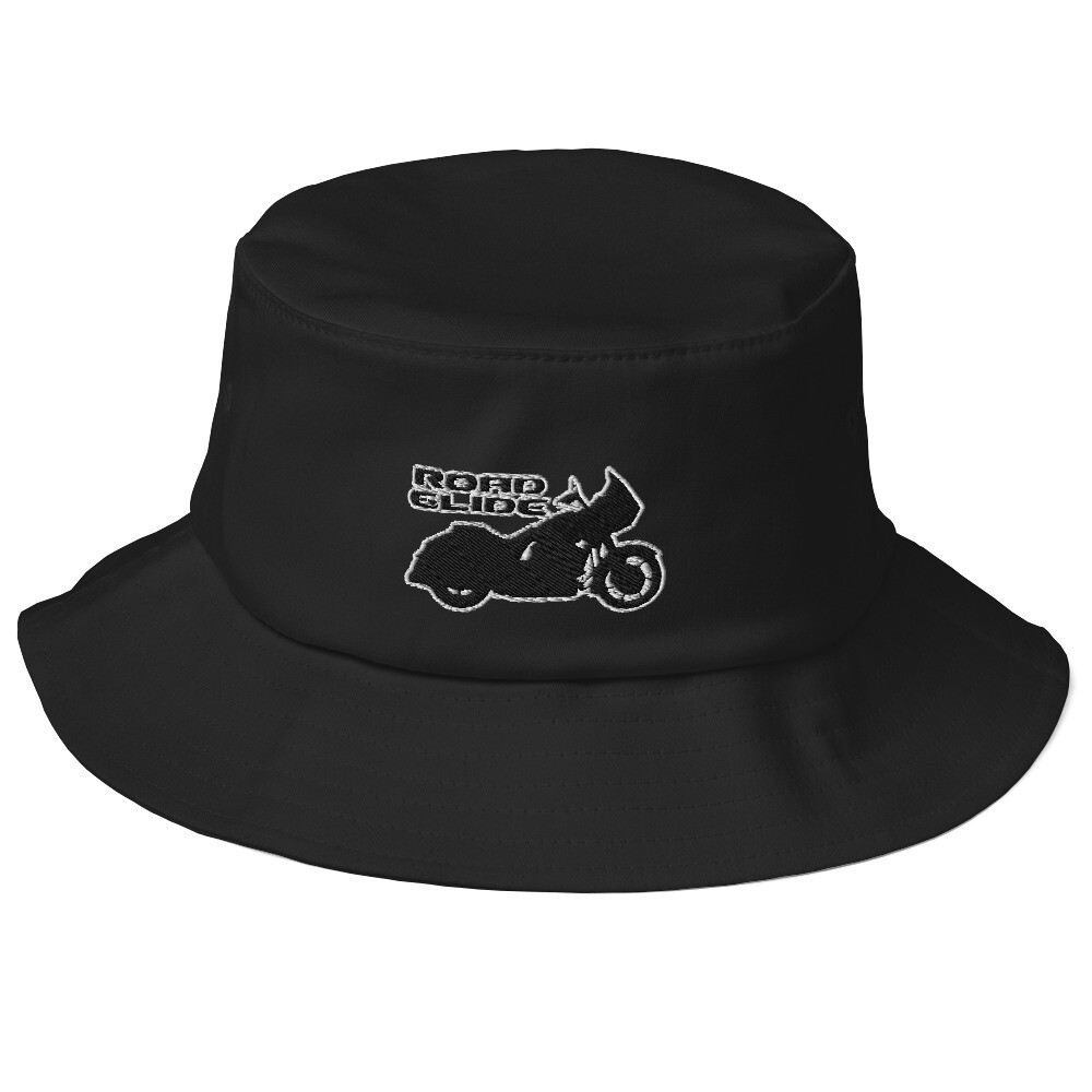 Road Glide Old School Bucket Hat