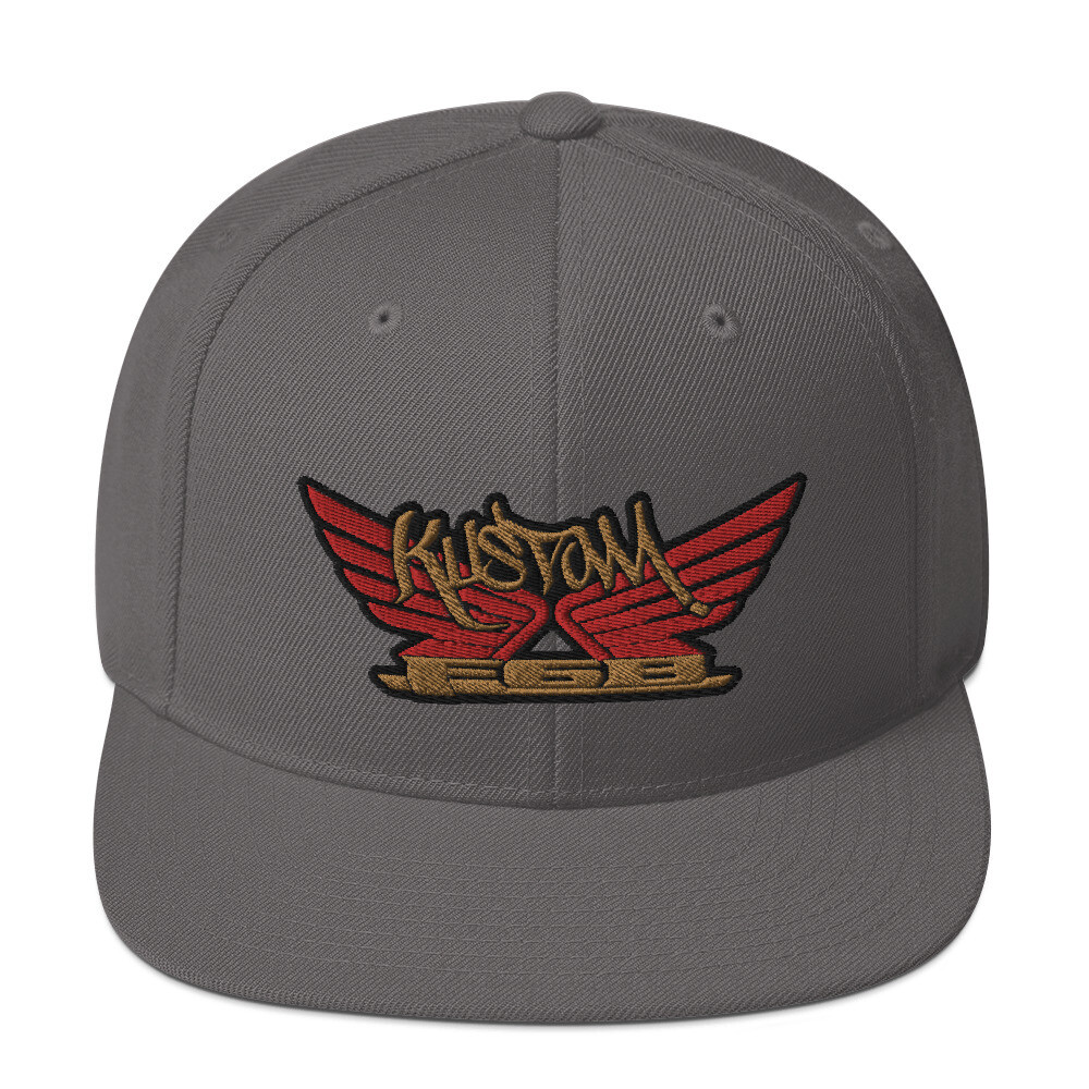 Kustom wings Snapback Hat